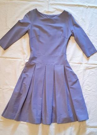 Классическое платье миди XXS-XS