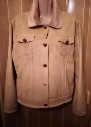 Пиджак из искусственной замши BJ