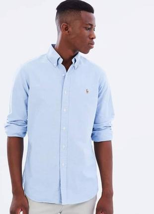 Натуральная рубашка Ralph Lauren