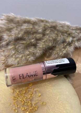 Блеск-плампер для губ flame lipfiller+увеличение объёма губ нюд