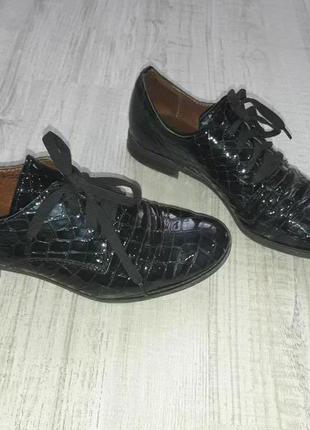 Туфли темно-синий цвет, 36р