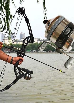 Катушка Большая Премиум - BL40 рыболовная Slingshot  Рогатка Лук
