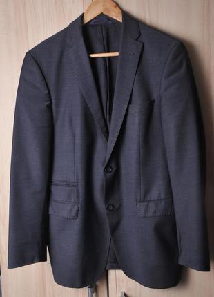 """Тонкий полу шерстяной пиджак """"benvenuto"""""""