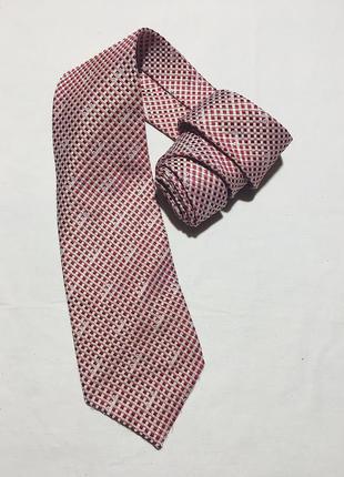 Мужской шелковый галстук в клетку dolce&gabbana ( дольче и габ...