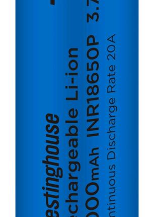 Аккумулятор литий-ионный  Li-ion INR18650 10C, 2000mAh, 3.7V