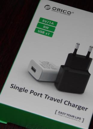 ORICO mini USB Зарядное устройство 5V 1A 2A USB