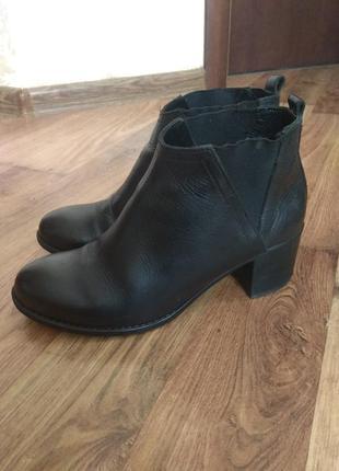 Ботинки кожаные р38