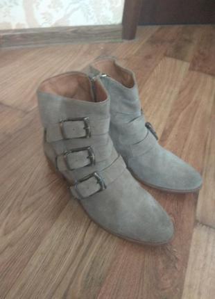 Ботинки замшевые swildens р 38