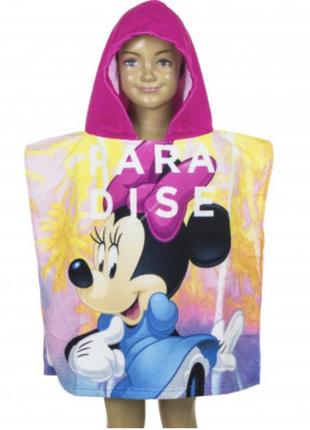 Пончо для девочки Disney
