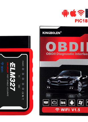 Автосканер Kingbolen ELM327 OBD SCAN WI-FI