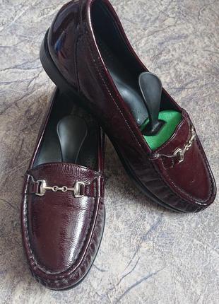 Кожаные туфли из сша .sas tripad comfort .