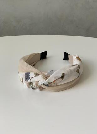 Стильный обруч ободок повязка на голову в стиле zara тренд