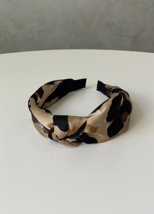 Стильный обруч ободок повязка на голову в стиле zara чалма лео...