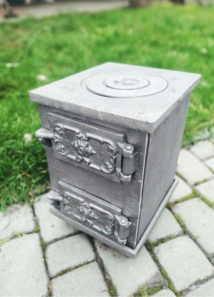 Буржуйка чугунная Печка печь піч чавунна плита топка камин камін