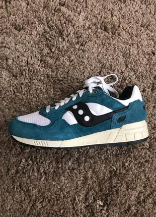 Saucony shadow 5000. Teal white. US 9.