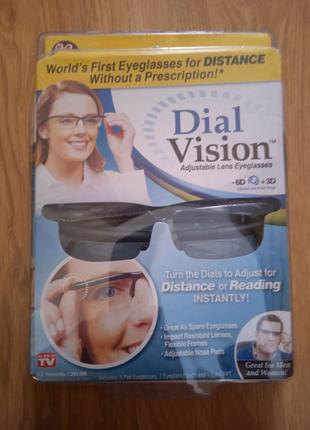 Очки с регулировкой линзподходят для людей и с близорукостью, и