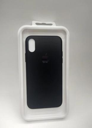 Накладка iPhone X/Xs 5.8 Frosted Glass Brand