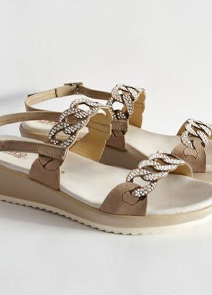 Кожаные сандалии REPO Италия Оригинал 36 37 новые