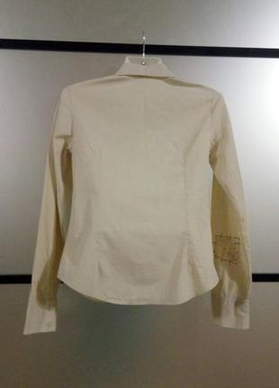 Натуральная хлопковая рубашка сорочка в принт