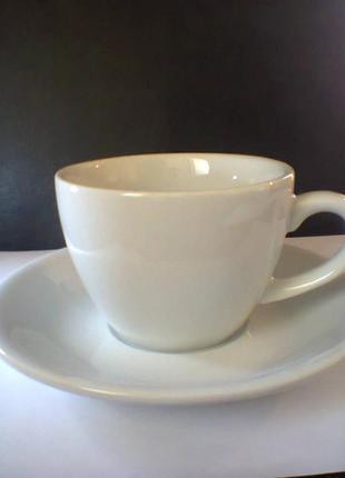 Чашка с блюдцем Alt Porcelain