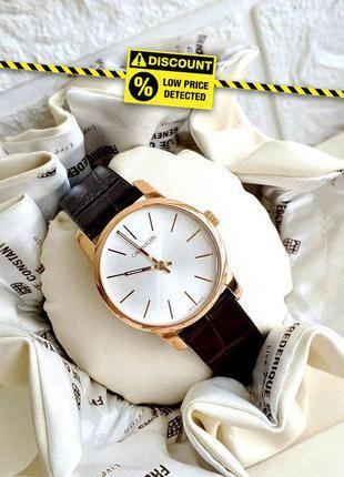 - 55% | женские швейцарские часы calvin klein city k2g236...