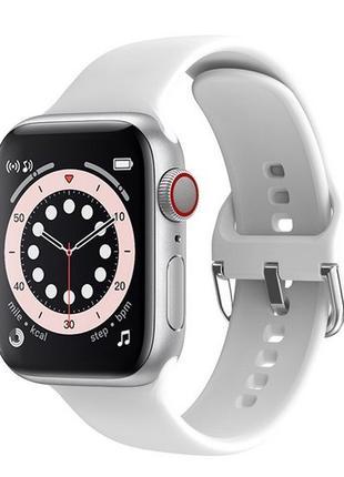 Смарт часы Modfit T500 Plus Silver-White
