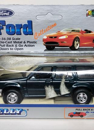 Ford внедорожник машинка Welly масштаб 1:38