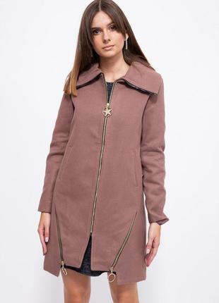 Демисезонное кашемировое женское пальто