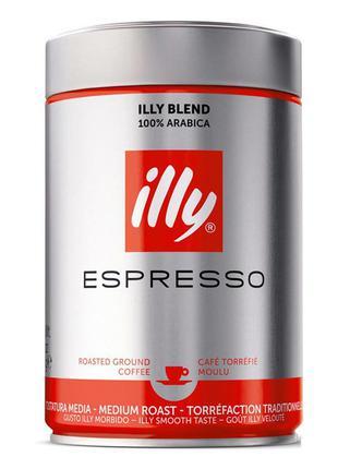 Кофе  зерно в жестяной банке ILLY Classico, 250г (Италия)