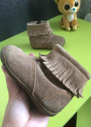 Ботиночки 12см стелька натуральный замш и кожа супинатор