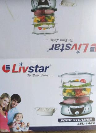 Пароварка Livstar LSU-1422