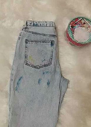 Крутые джинсы с высокой талией