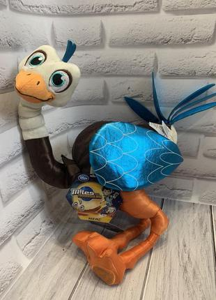 Фирменная игрушка disney страус мерк