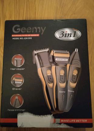 Электробритва сеточная и триммер для бороды