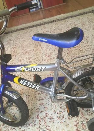 Велосипед Kettler в отличном состоянии 2-6 лет