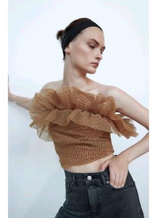 Топ, блуза Zara,М