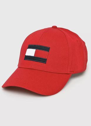Бейсболка кепка шапка красная брендовая