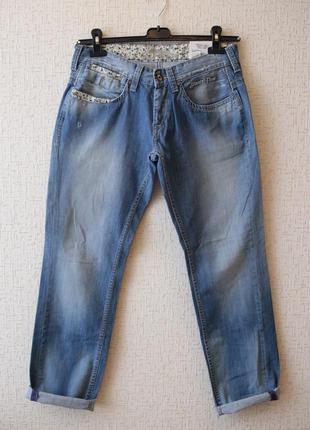 Джинсы бойфренды pepe jeans