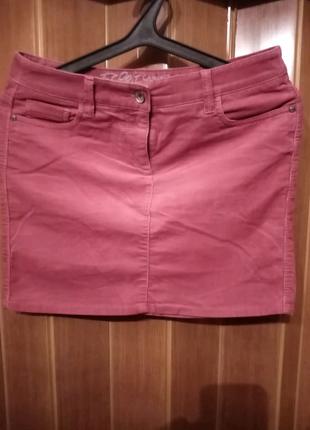 Микровельветовые юбка Esprit