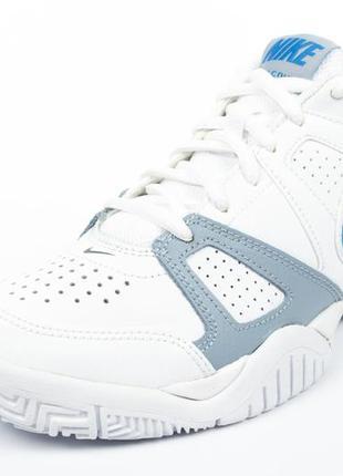 Кроссовки nike city court 7 gs white/blue