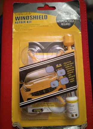 Набор для ремонта лобового стекла автомобиля