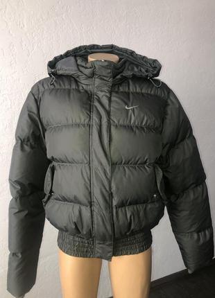 Зимняя пуховая куртка nike