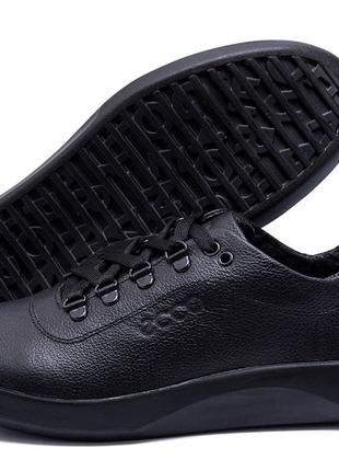 Чоловічі шкіряні туфлі кросівки
