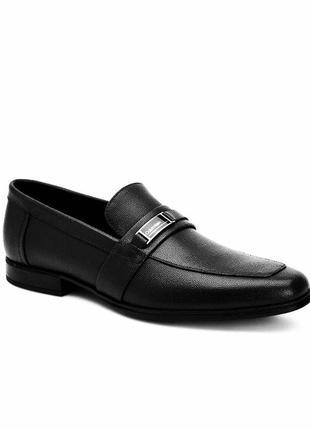 Кожаные туфли calvin klein оригинал