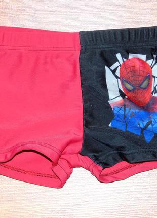 Красные плавки с человеком пауком,92,98,2-3 года состояние отл...