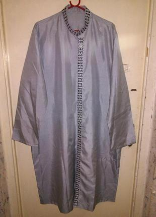 Новое,шикарное платье-рубашка?,с вышивкой,в восточном стиле, б...