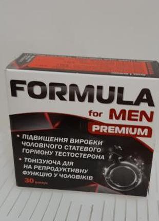 Formula for men Premeum (Формула для мужчин премиум), 30 кап