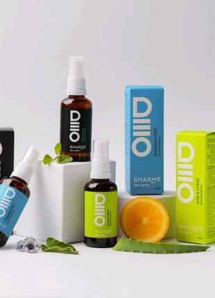 Натуральные дезодоранты для тела SHARME DEO SPRAY