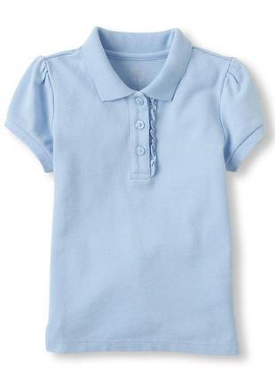 Поло футболка для девочки