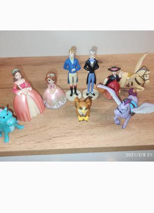 Игровой набор софия прекрасная семья питомцы животные